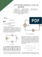Informe Practica II
