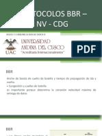 Protocolos Bbr – Nv - Cdg