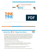 12 Things About Moms