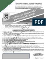 202 Técnico Em Segurança Do Trabalho Júnior-Tipo B