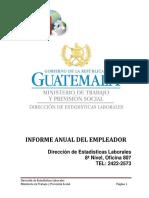 Guía Del Informe Del Empleador 2018