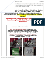 Dan Kennedy's Info Riches 2 - Sales Page