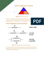 Regla Del Triangulo LEY-OHM
