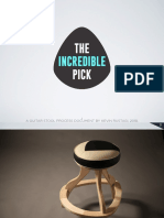 Kevin Rustagi's Chair Process Doc, 2018.  The Incredible Pick.
