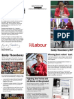 Emily Thornberry Shadow Cabinet Leaflet