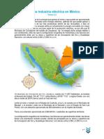 TAREA. 3.4 La Nueva Industria Eléctrica en México