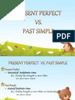 Present Perfect vs Past Simple Grammar Drills 16356