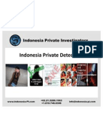 IndonesiaPrivate Detectives