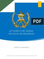 Ley Marco Del Sistema Nacional de Seguridad