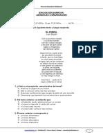 Evaluacion Sumativa Lenguaje 5basico Junio 2011