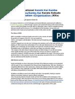 IKKO Rukes and Procedures 2017