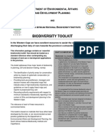 Biodiversity Toolkit Guidelines