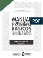 Manual de Recoleccion Conceptos Basicos II TRIM 2017