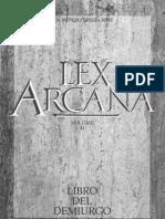 Lex Arcana - 02.Libro Del Demiurgo