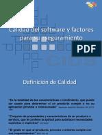 Calidad Del Software y Factores Para Su Aseguramiento