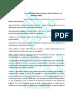 Redacción de las preguntas, objetivos y justificación de la investigación.