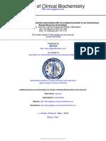 2011 - Spuriously Raised Serum Creatinine Associated With an Excipient Present in an Intravenous Dexamethasone Formulation