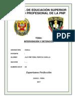 Monografia de Intervención y Detención