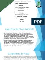 Algoritmos Floyd Warshall