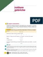 Strutture Algebriche - Lamberti, Mereu, Nanni