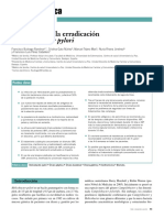 Criterio Para La Erradicacion de Helicobacter Pilory