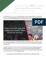 ▷ Redes Sociales_ Qué son, para qué sirven y cómo usarlas