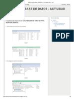 Replicacion Base de Datos