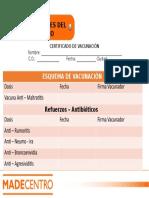 Certificado de Vacunación.ppt