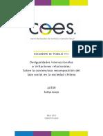 COES DTNº03 Desigualdades Interaccionales e Irritaciones Relacionales
