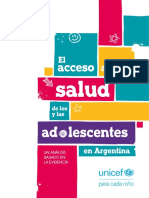 Unicef ARG Salud Adolescente FINAL