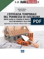 l Efficacia Temporale Del Permesso Di Costruire