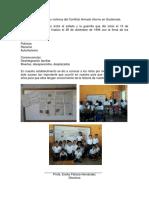 Informe Sobre Las Víctimas Del Conflicto Armado Interno en Guatemala