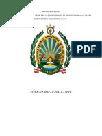Proyección Social Enfermeria 2016-2