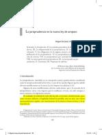Miguel de Jesús Alvarado Esquivel. La Jurisprudencia en La Nueva Ley de Amparo