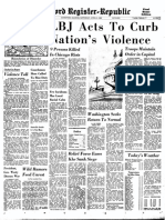 Front pages from 1968