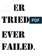 Ever Tried