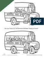 Spot School Bus Differences