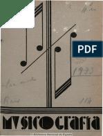 Musicografía (Monóvar). 5-1933, n.º 1