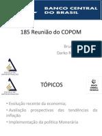 185 Reunião Do COPOM