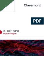 Impact Analysis Document 12.1 V2-2