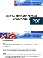 Grammar - First and Second Conditionals