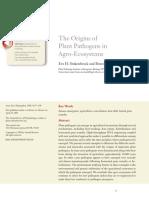 2.Origendelosfitopatogenosenagroecosistemas
