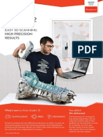 Brochure Artec Studio 3d Scanning Software