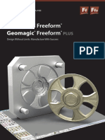 Brochure Geomagic Freeform Software