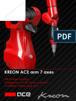 Brochure Kreon Ace 7 Axes Portable Cmm