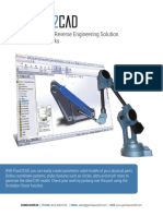 Brochure Point2cad Software Reverse Engineering