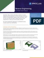 Brochure Spaceclaim Cad Modeling Software Reverse Engineering