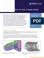 Brochure Spaceclaim Cad Modeling Software Early Concept Design