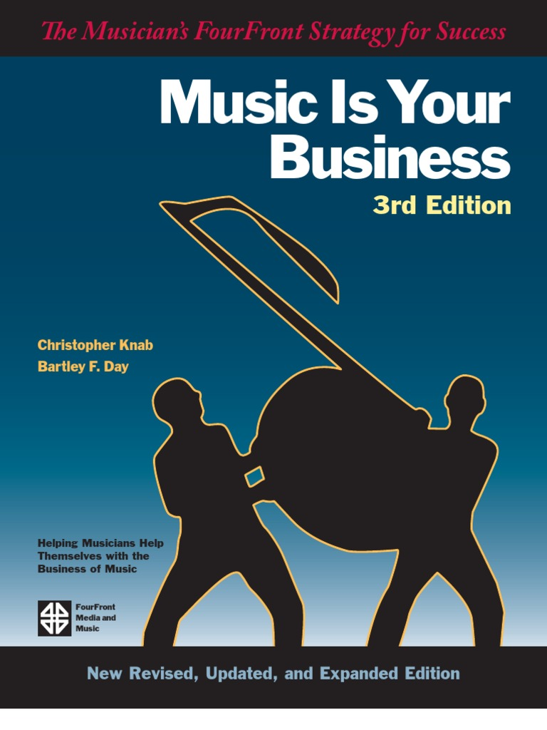 Music is your business 3rd edition 2007 music industry record label fandeluxe Choice Image
