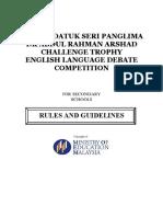 English Language Debates 2017 (Final)